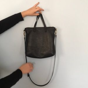 Madewell Zip Top Transport Tote Crossbody
